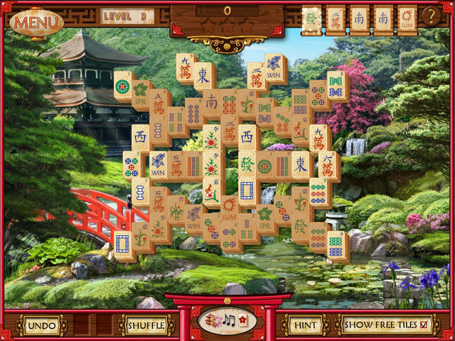 Mahjong Memoirs large screenshot