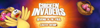 Chicken Invaders 3: Easter Edition screenshot
