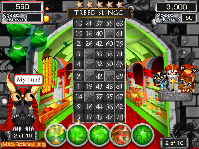 Slingo Quest Egypt Screenshot 1