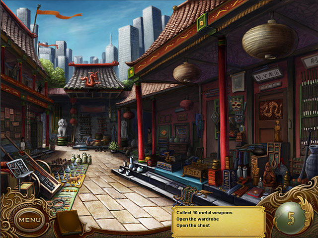 Tiger Eye Part I: Curse of the Riddle Box large screenshot