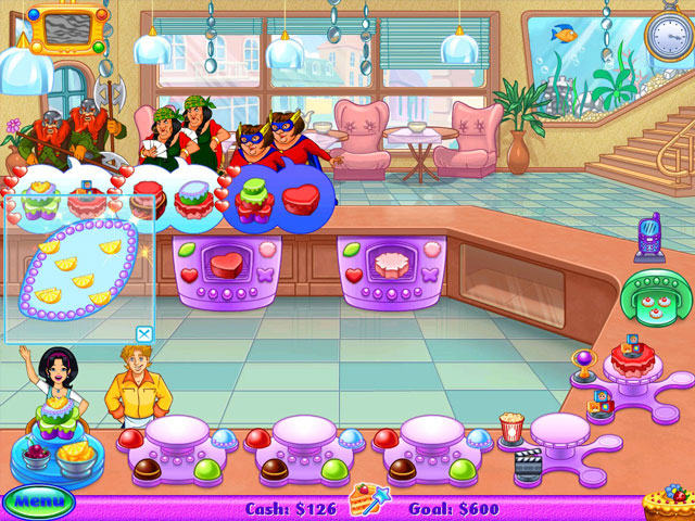 Cake Mania: Lights, Camera, Action! Screenshot 1