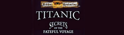 Hidden Mysteries: The Fateful Voyage - Titanic screenshot