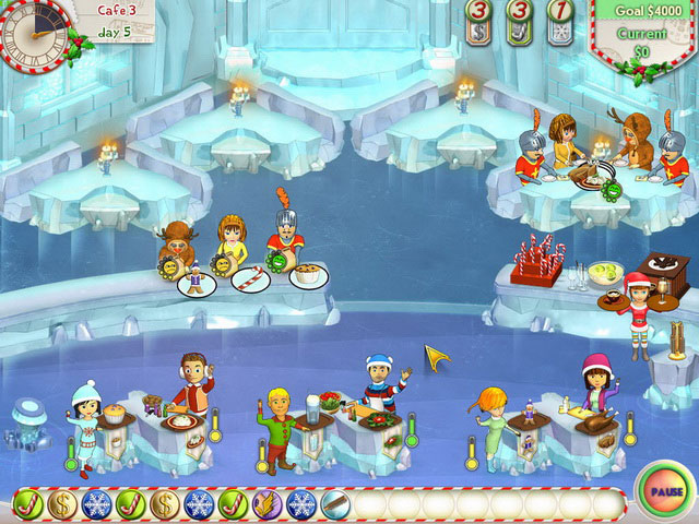 Amelie's Cafe: Holiday Spirit Screenshot 1