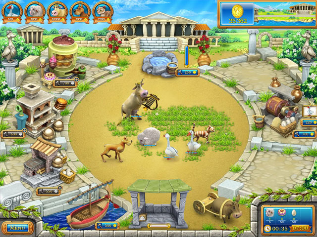 Farm Frenzy: Ancient Rome large screenshot