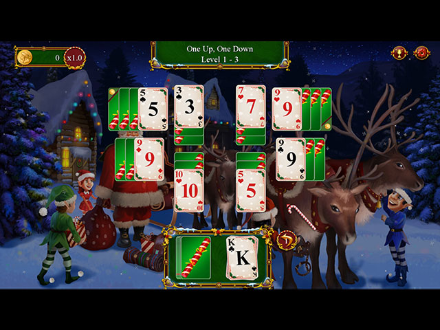 Santa's Christmas Solitaire 2 large screenshot