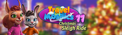 Travel Mosaics 11: Christmas Sleigh Ride screenshot