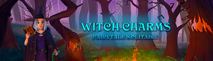 Fairytale Solitaire Witch Charms screenshot