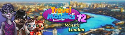 Travel Mosaics 12: Majestic London screenshot