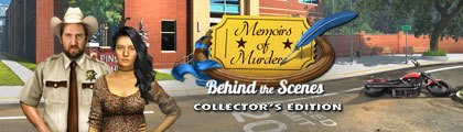 Memoirs of Murder: Behind the Scenes Collector's Edition screenshot