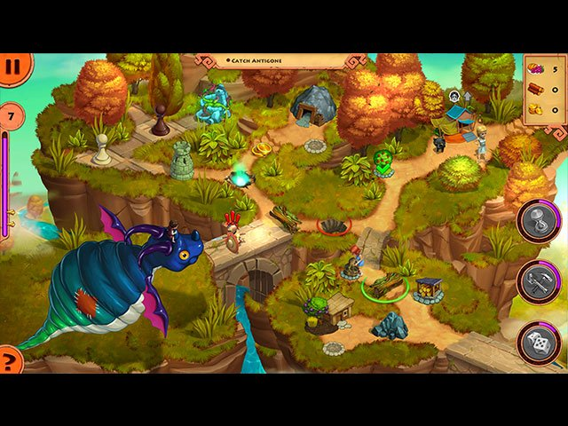 Adventures of Megara: Antigone and the Living Toys Collector's Edition large screenshot