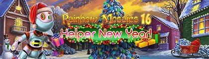 Rainbow Mosaics 16: Helper New Year! screenshot