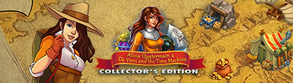 Alicia Quatermain 4: Da Vinci and the Time Machine Collector's Edition screenshot
