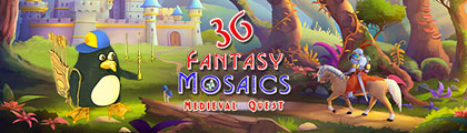 Fantasy Mosaics 36: Medieval Quest screenshot