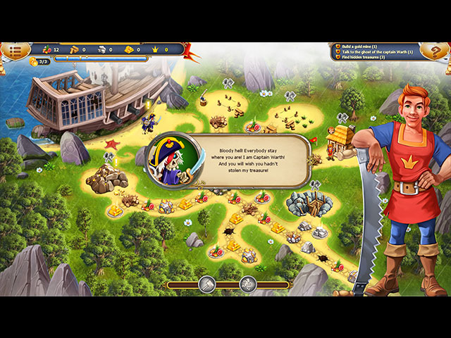 Fables of the Kingdom III Collector's Edition large screenshot