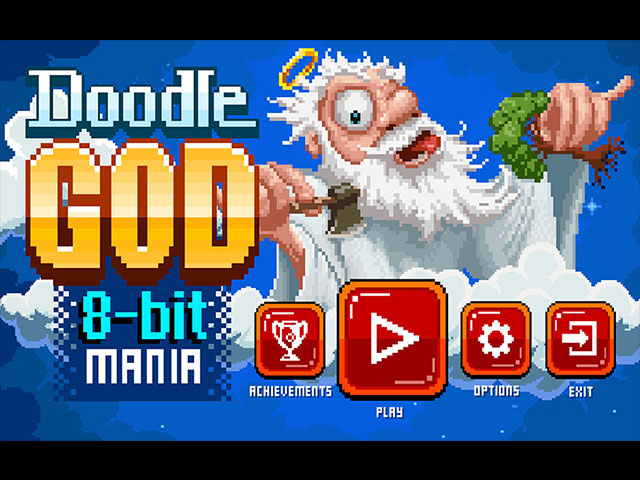 Doogle God: 8-Bit Mania large screenshot