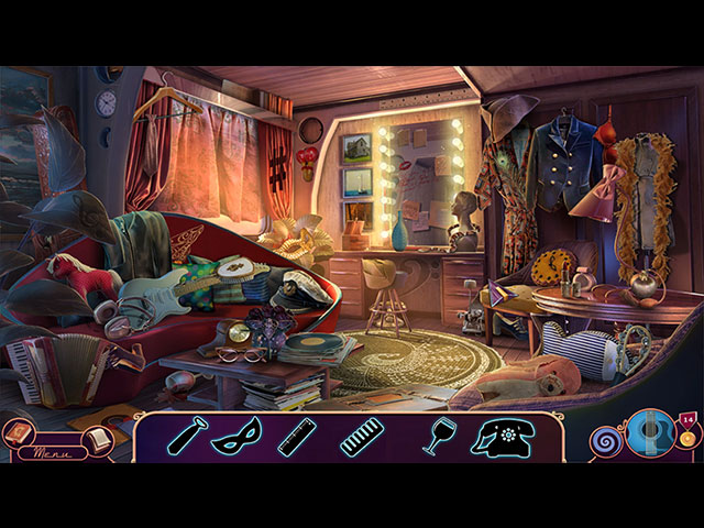 Cadenza: Fame, Theft and Murder Collector's Edition large screenshot
