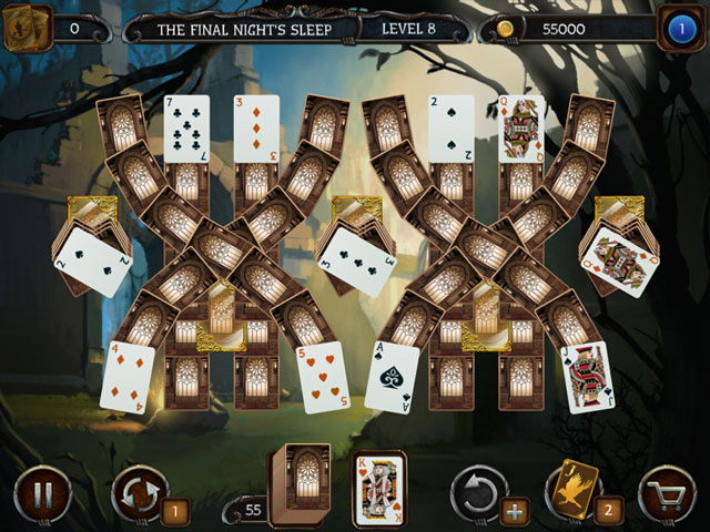 Mystery Solitaire Cthulhu Mythos large screenshot