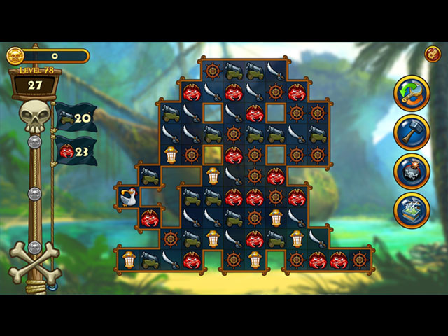 Match 3 - Pirates large screenshot