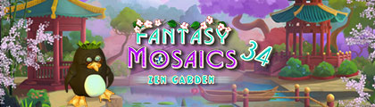 Fantasy Mosaics 34: Zen Garden screenshot