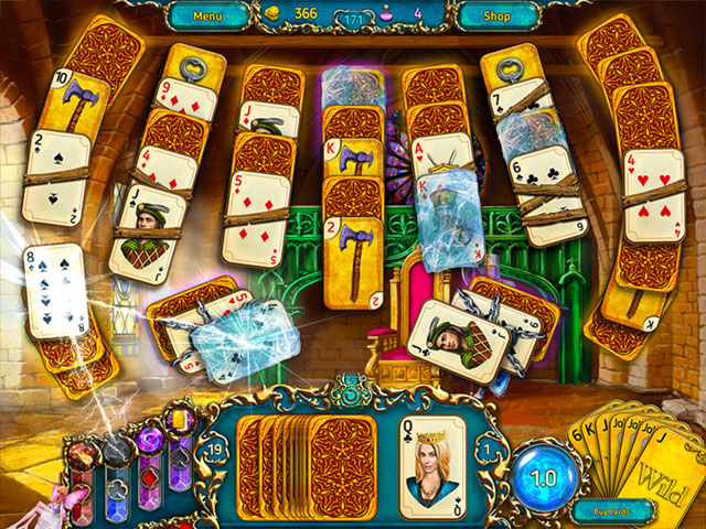 Dreamland Solitaire large screenshot