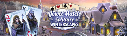 Jewel Match Solitaire Winterscapes screenshot