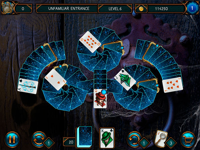 Detective Solitaire Inspector Magic And The Man Without A Face large screenshot