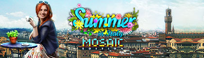 4 Seasons - Summer in Italy - Mosaic Edition screenshot