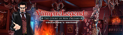 Vampire Legends: The Count of New Orleans Collector's Edition screenshot