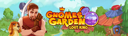 Gnomes Garden - Lost King screenshot