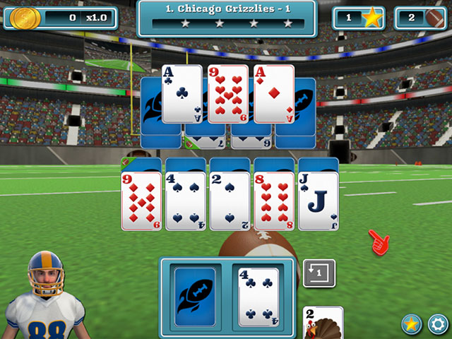 Touch Down Football Solitaire large screenshot