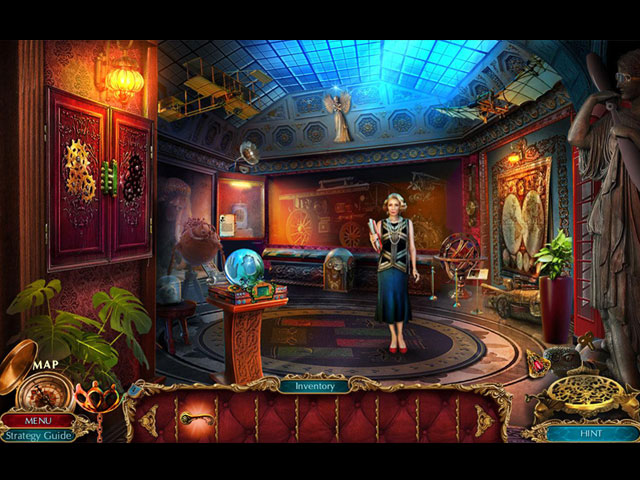 The Curio Society: Eclipse over Mesina Collector's Edition large screenshot