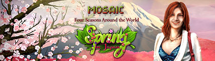 Spring in Japan - Mosaic Edition screenshot