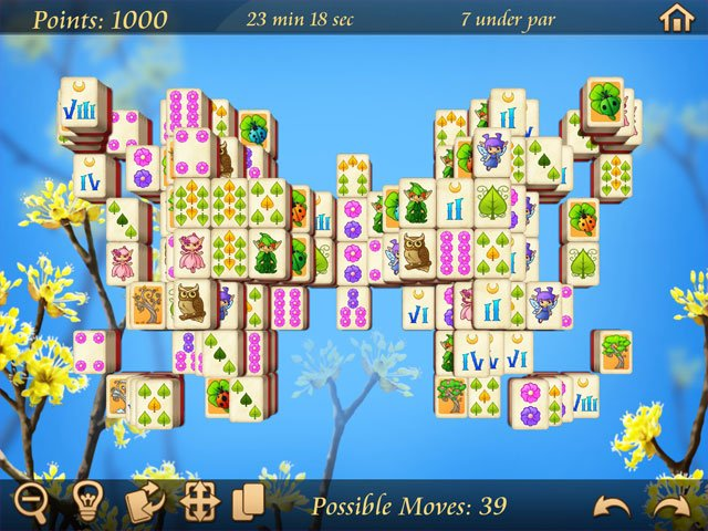 Springtime Mahjongg large screenshot