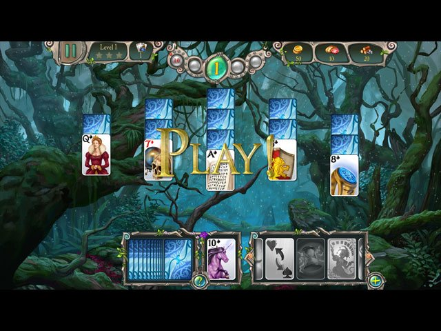Avalon Legends Solitaire 3 large screenshot