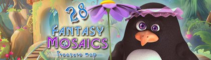 Fantasy Mosaics 28: Treasure Map screenshot