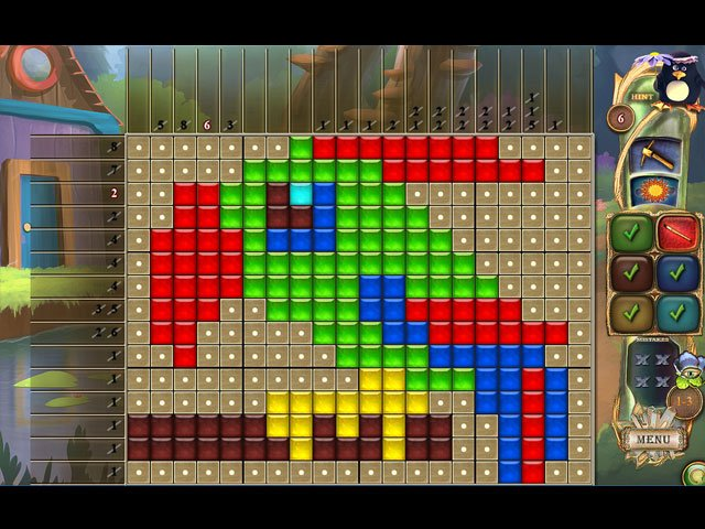 Fantasy Mosaics 28: Treasure Map large screenshot