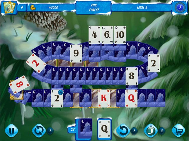 Solitaire Jack Frost Winter Adventures 3 large screenshot