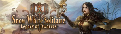 Snow White Solitaire - Legacy of Dwarves screenshot