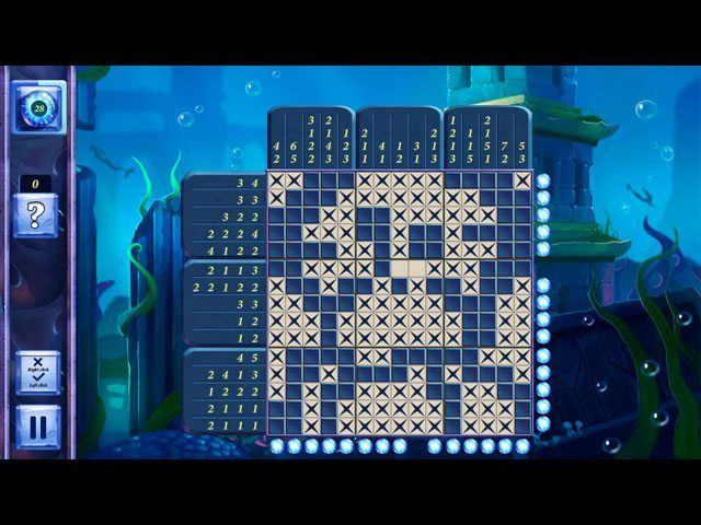 Picross Fairytale - Legend Of The Mermaid large screenshot