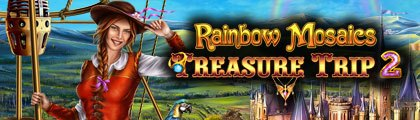 Rainbow Mosaics - Treasure Trip 2 screenshot