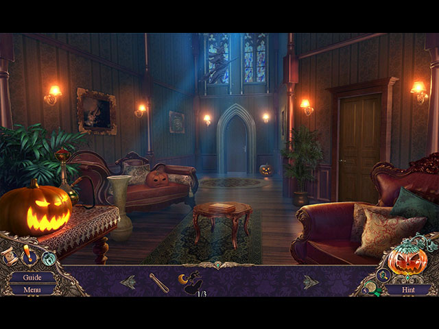 Haunted Manor: Halloween's Uninvited Guest Collector's Edition large screenshot