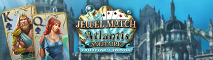 Jewel Match Atlantis Solitaire Collector's Edition screenshot