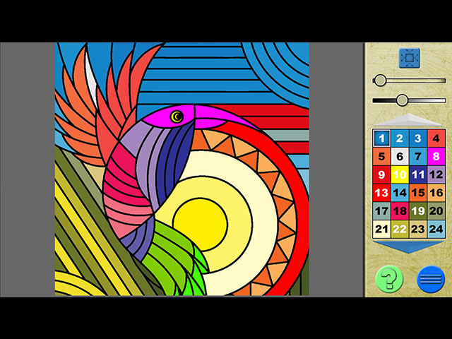 Paint by Numbers 3 large screenshot