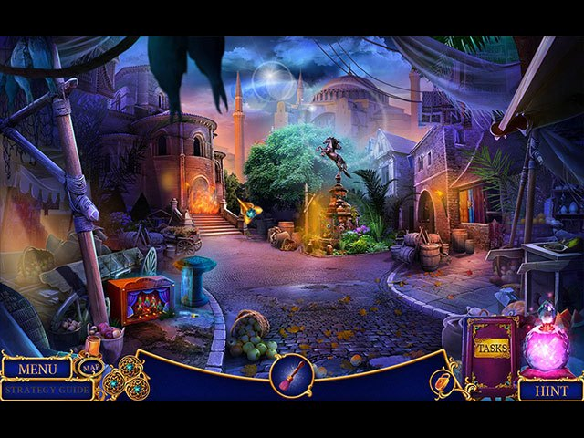 Enchanted Kingdom: The Secret of the Golden Lamp Collector's Edition large screenshot