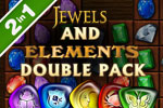 Download Jewels and Elements Double Pack Game