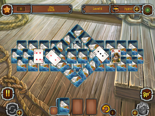 Pirate's Solitaire 2 large screenshot