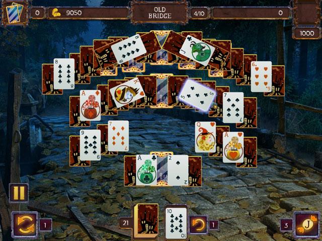 Solitaire Game Halloween large screenshot