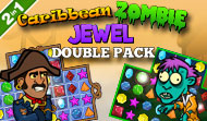 Caribbean Zombie Jewel Double Pack
