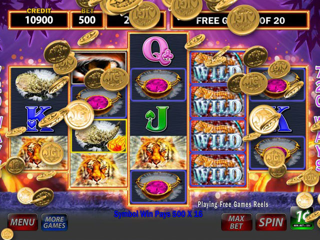 IGT Slots Sumatran Storm large screenshot