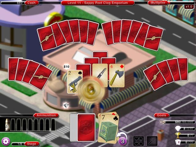 Crime Solitaire 2: The Smoking Gun large screenshot